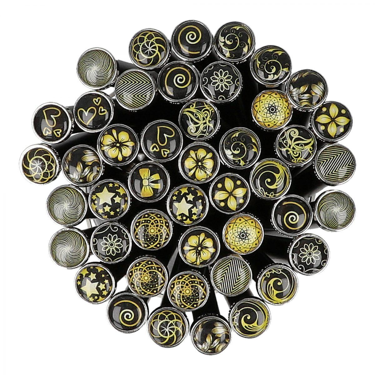 Art. 390126-Ornamente Black/Gold