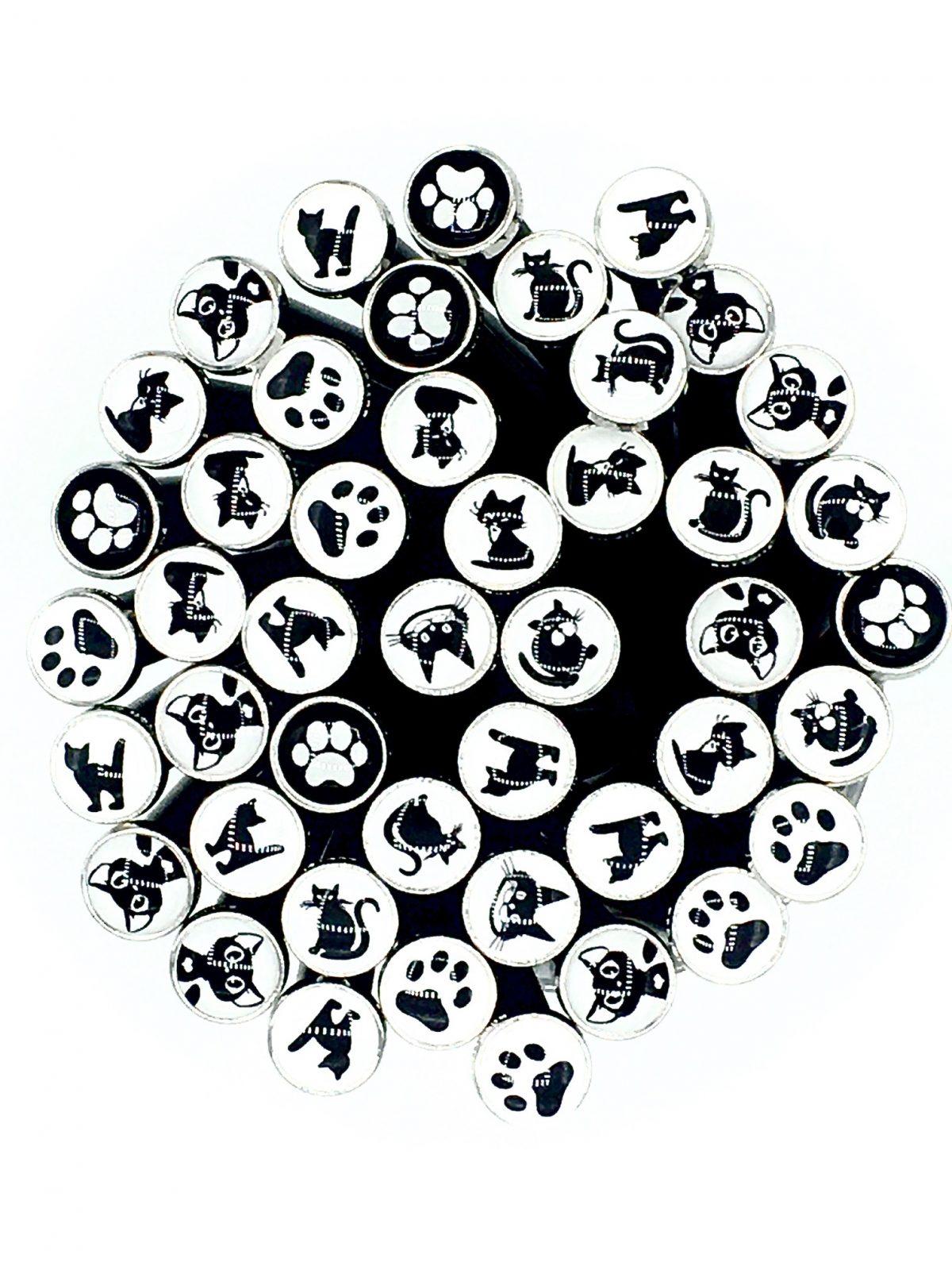 Art. 390130  -  Katzen, Black & White