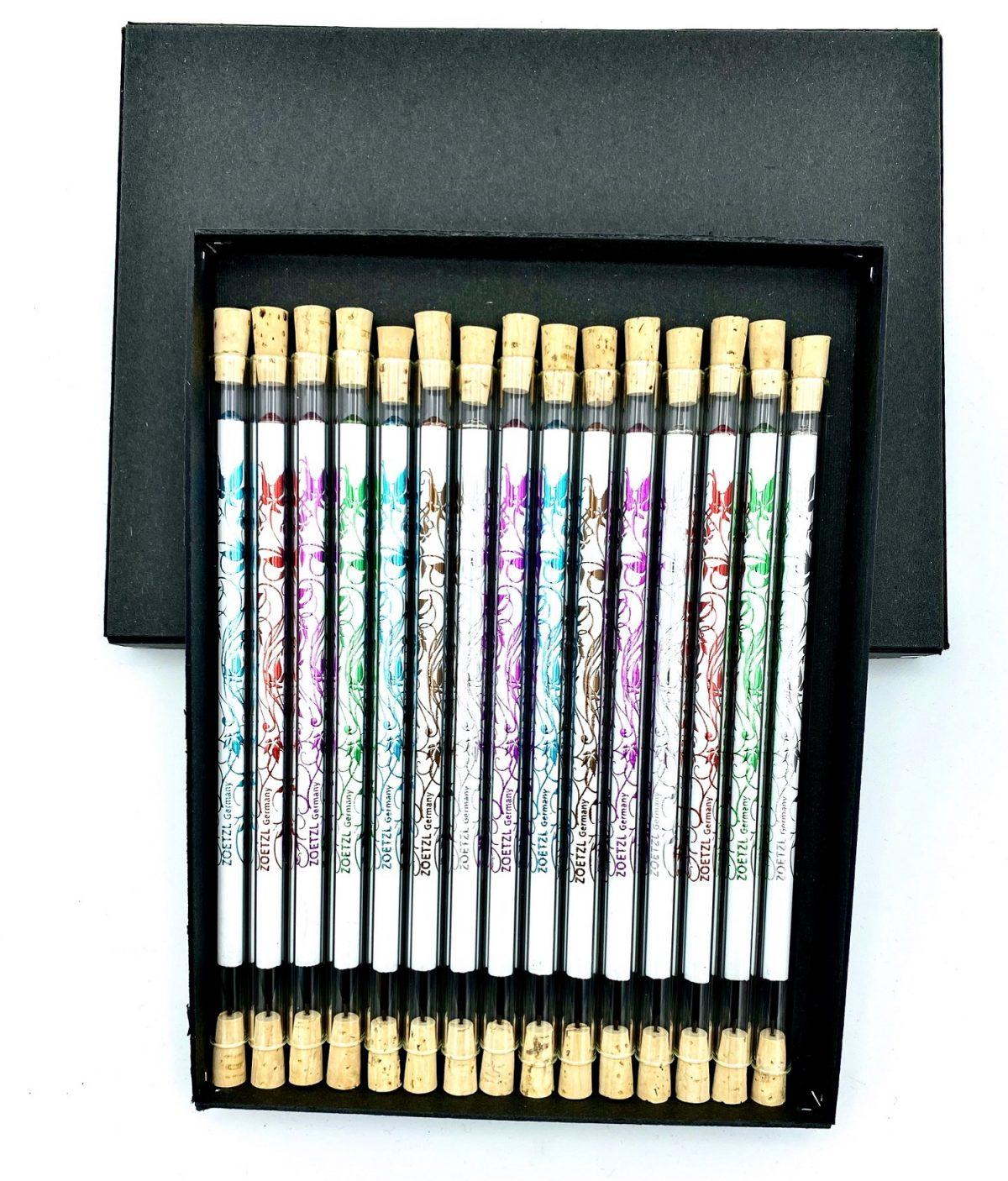 TD102  -  GlasTrinkhalme mit Pencil