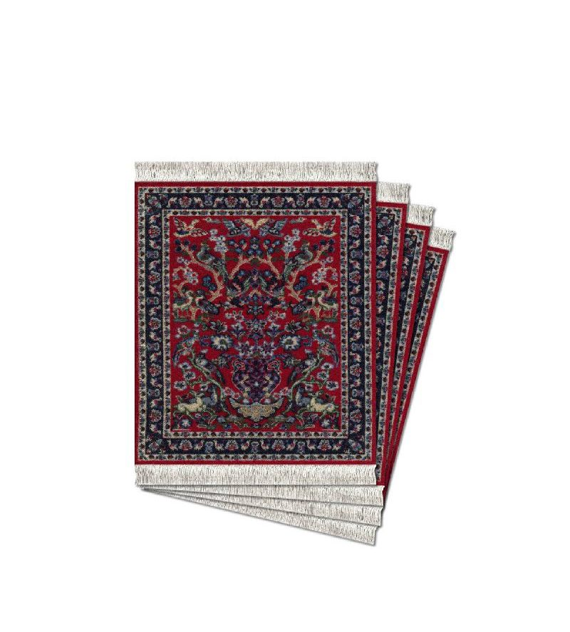 Rugs Mouse, Book & Coaster