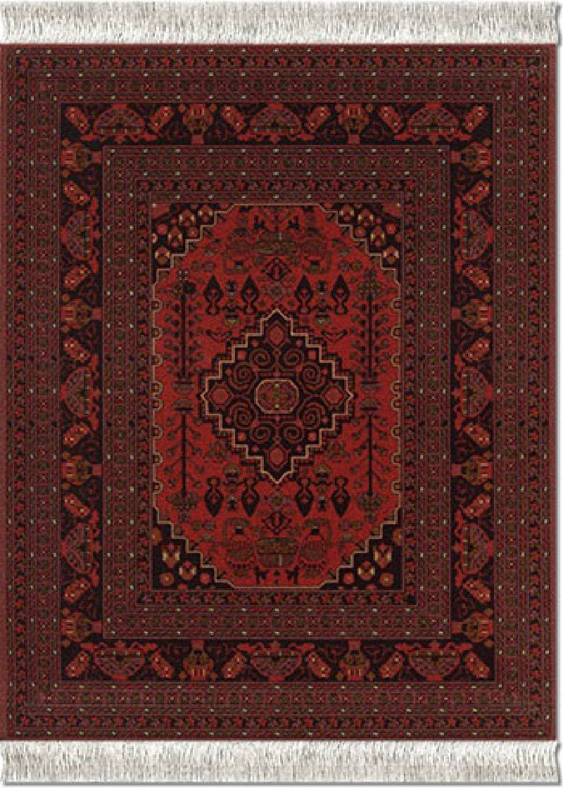 Antique-Red-Afghan